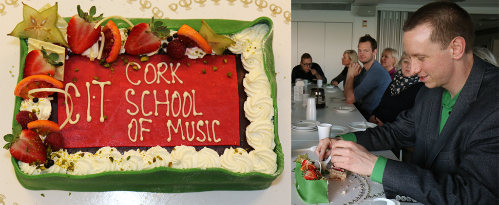Cake for CIT Cork School of Music